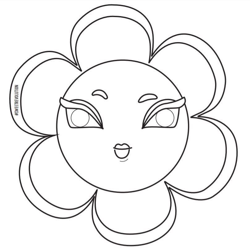 coloriage-flower-power